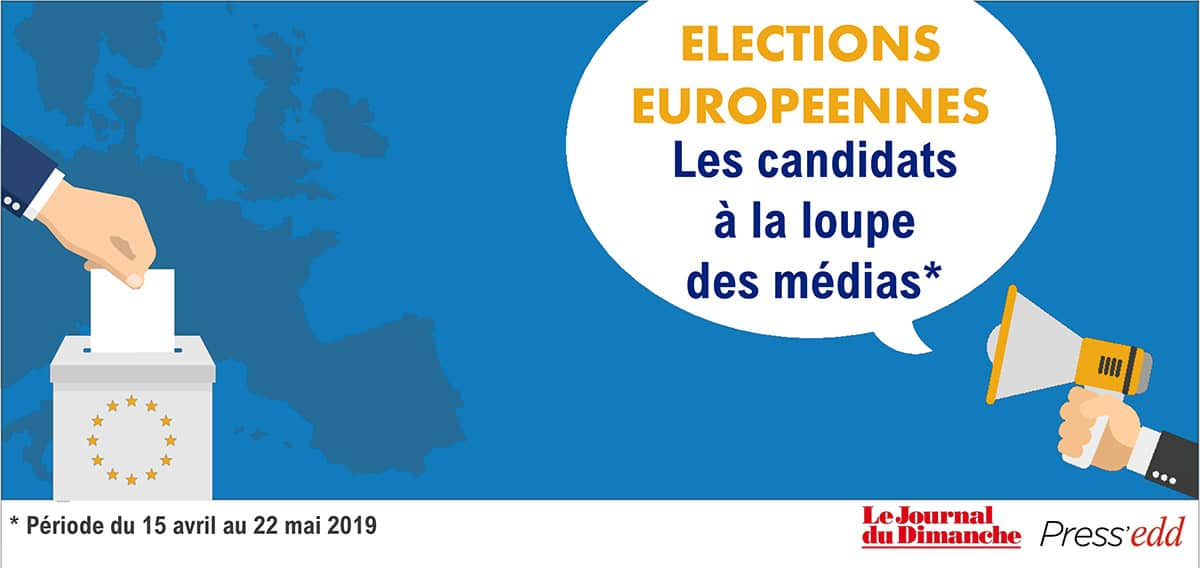 Visibilité des candidats aux Élections Européennes dans la presse française : Le Journal du Dimanche et Tagaday  en campagne