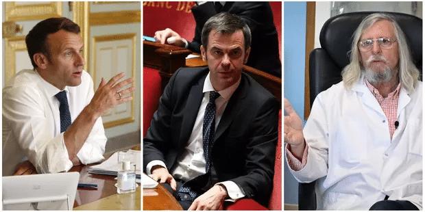 Macron, Véran, Raoult… Découvrez les personnalités les plus souvent associées au coronavirus dans la presse