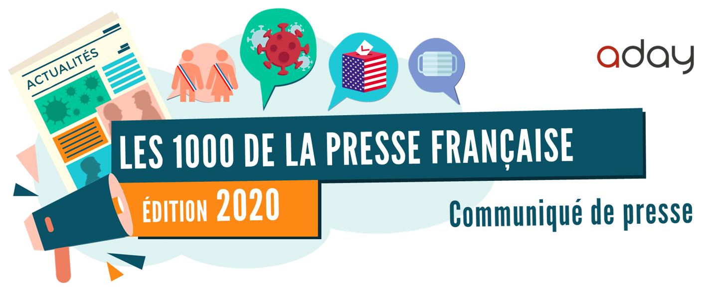 Les 1000 de la Presse Française – edition 2020