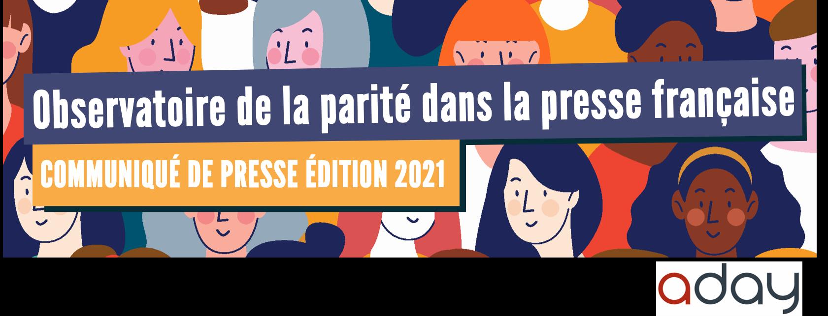8° Observatoire de la parité dans la presse française